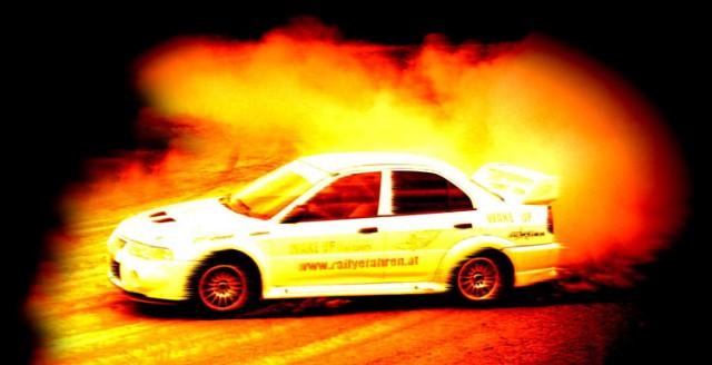 rallye auto fahren